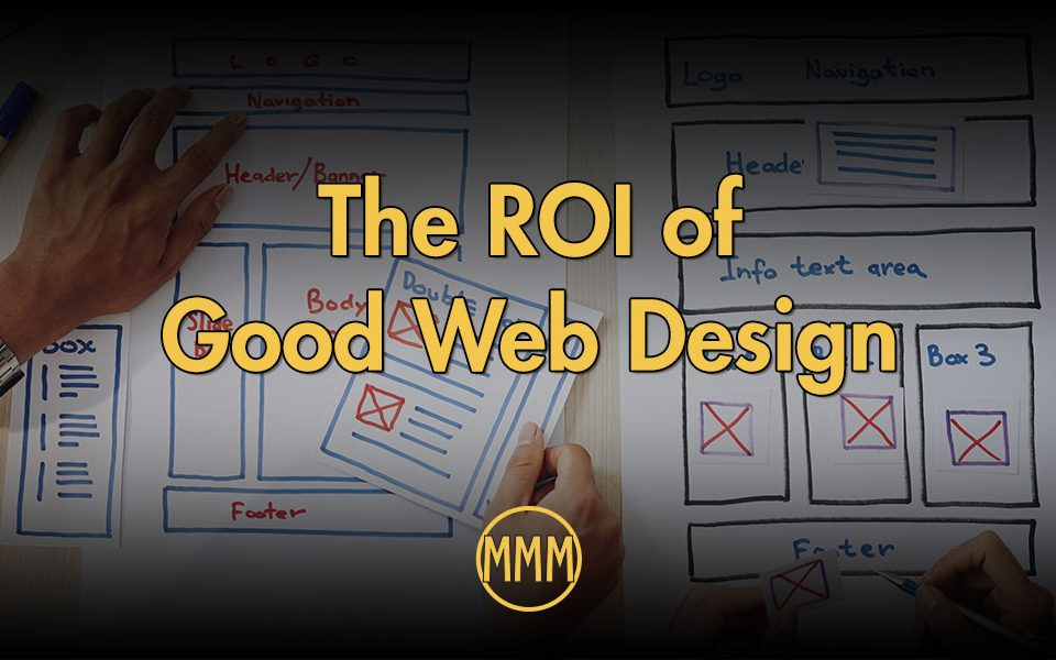 the ROI of Good Web Design