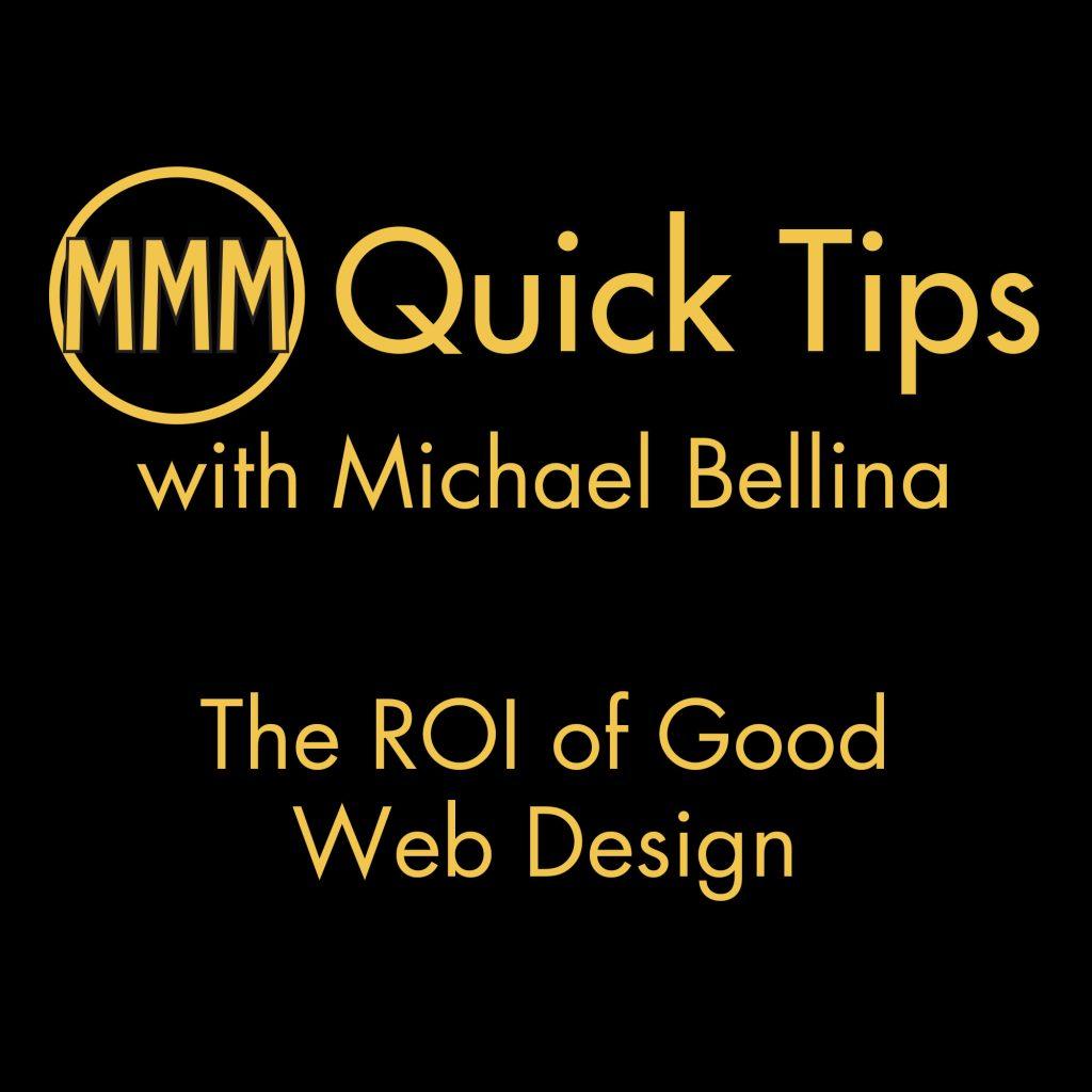 The ROI of Good Web Design
