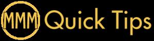 MMM Quick Tips - Digital Marketing Podcast